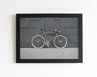 Bicycle Photo Poster for self print // Size DIN A1 (594 x 840mm)