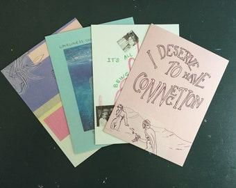 choose one postcard