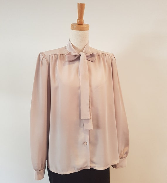 1990's Pussy Bow Blouse