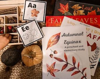 Autumnal Equinox Unit Study | Equinox Unit Study | Autumn Unit Study
