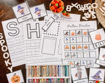 Halloween Early Learning Pack | Halloween Mini Unit | Halloween Unit Study