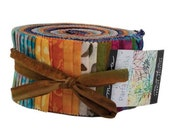 Parfait Batiks, Jelly Roll, Moda Fabrics