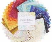 Parfait Batiks, Charm Pack, Moda Fabrics