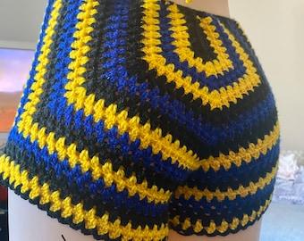 RASTAreggae hand crocheted cap RLW304