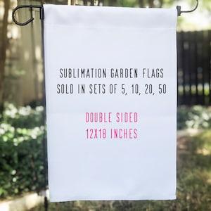 Garden Flags Etsy