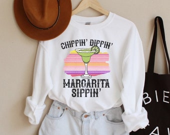 Don/'t Be Salty Said No Margarita Ever Off Shoulder Sweatshirt Margarita Sweater for Women Cinco de Mayo Gifts for Her Mexican Holiday Gifts