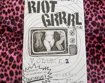 Riot Grrrl Zine volume 2!