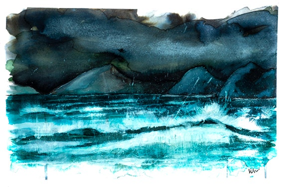 Rough Seas on Skye