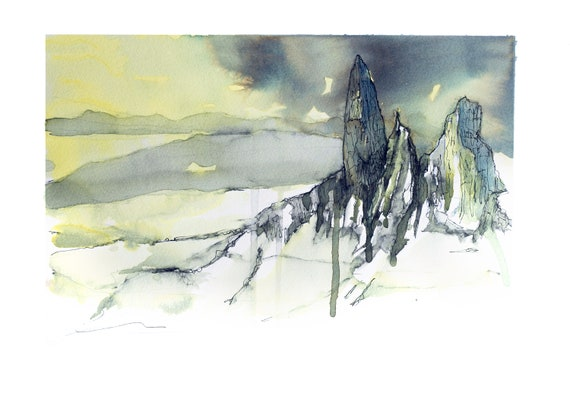 Old Man of Storr - Aloneness