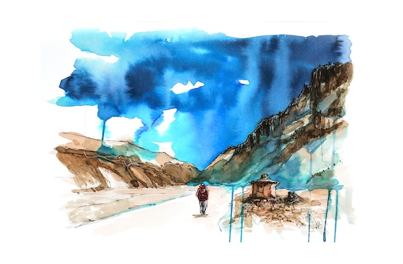 Aloneness in the Himalaya