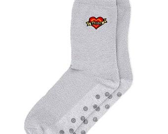 Grip Socks, IVF Socks, Lucky Socks, Non-Slip Socks, Fertility Socks, iui, ivf, ivf retrieval, transfer day, baby dust, ttc, infertility gift