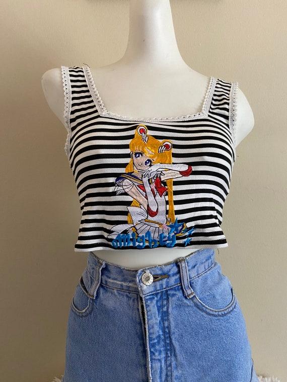 Y2K OMighty Sailor Moon Top - image 4