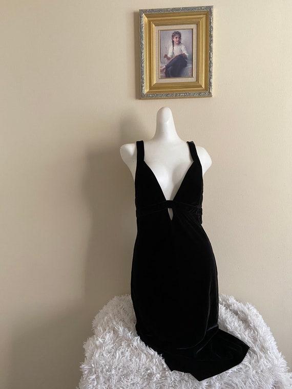 Vintage Velvet Express Dress