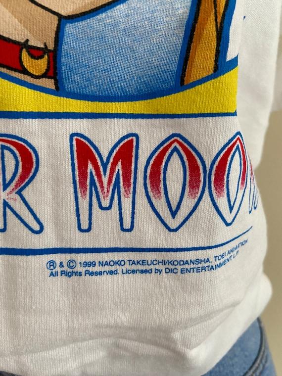 Vintage 90s Sailor Moon T-Shirt - image 2