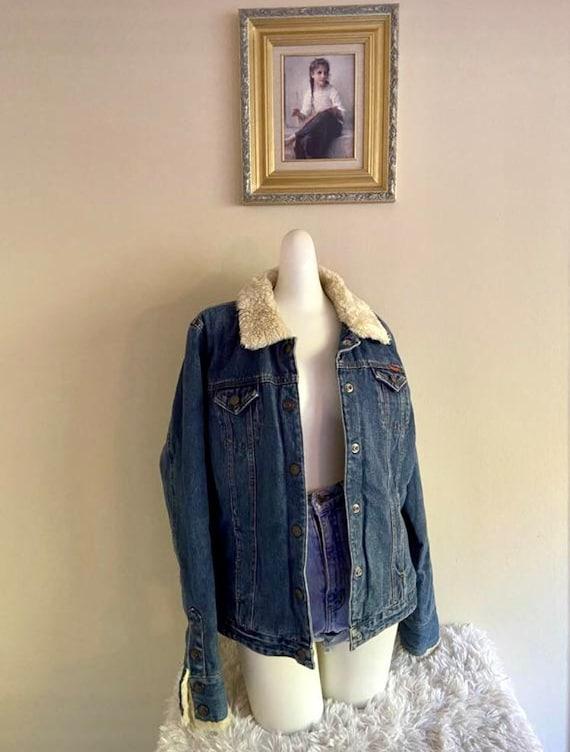 Y2K Roxy Denim Jacket - image 1