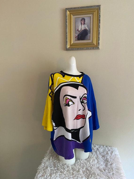Vintage 90s Snow White WickedQueen Top