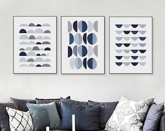 Modern Abstract Line Hipster Music Poster Prints Home Decor Art Canvas Paintings