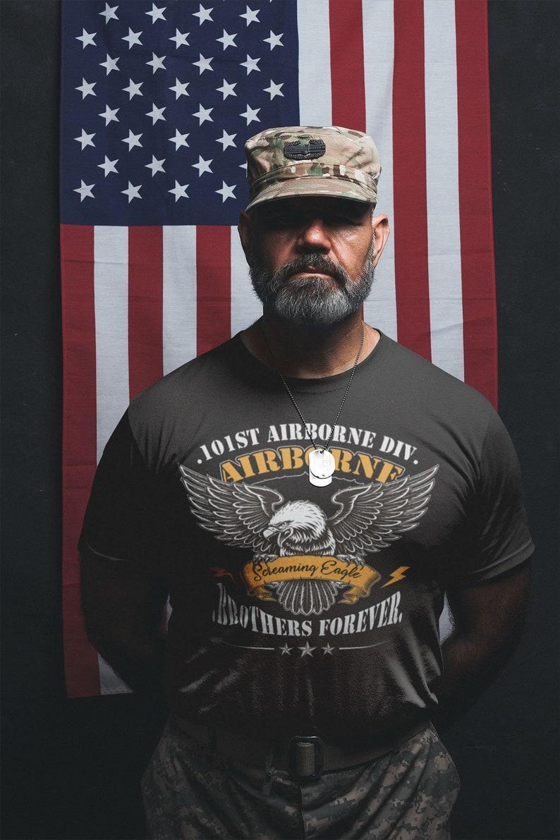 101St Airborne T-Shirt- U.s Army Veteran Gift Shirt Masswerks Store