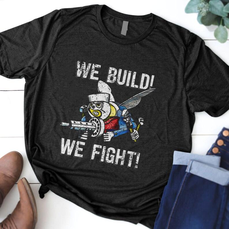 Us Navy Seabees Gift T-Shirt Masswerks Store