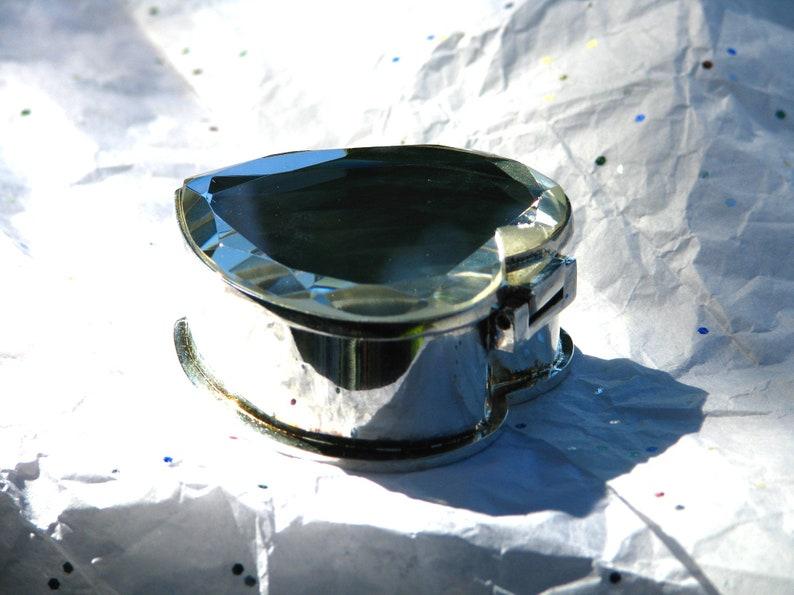 Earrings Pill Engrave! Rings Mirror Trinket