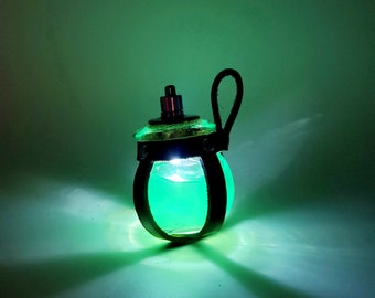 LED Potion Bottle for Magic Potion LARP Cosplay Alchemy Roleplay Adventures and D&D
