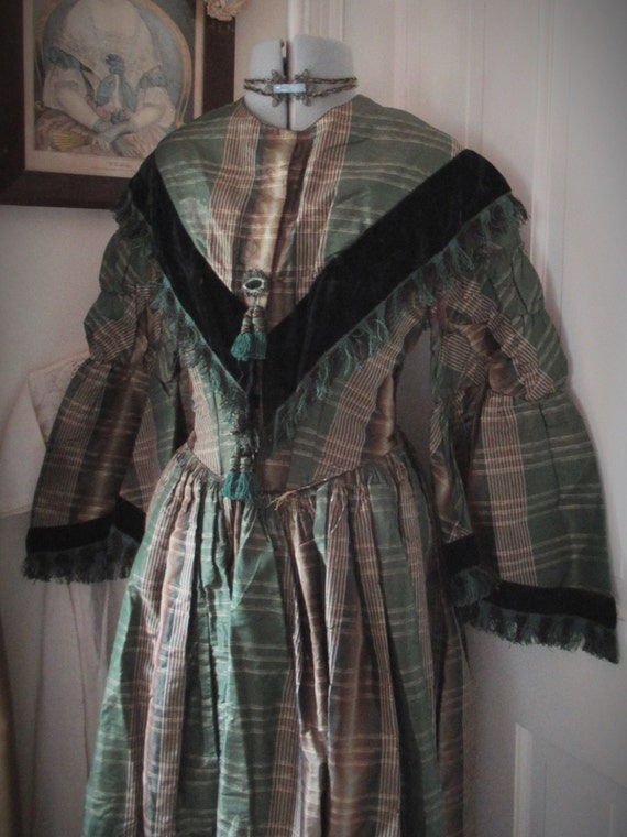 SOLD!reserved for Camelotfairies. Antique 1860s go