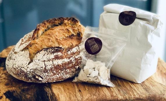Organic Flour Starter Sourdough Loaf Kit