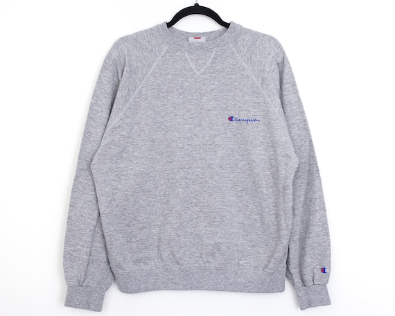 vintage 90s CHAMPION Grey Sweatshirt Size L
