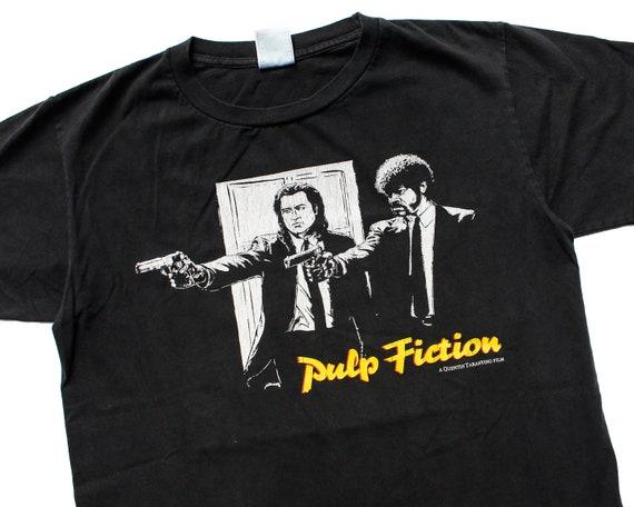 rare vintage PULP FICTION Movie Promo T-Shirt M |
