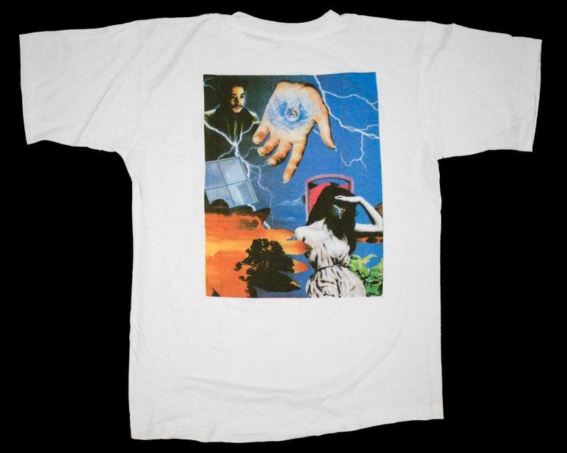 vintage 90s PRINCE Graffiti Bridge T-Shirt XL Purple Rain David Bowie Lenny Kravitz Michael Jackson Madonna Cure Rick James Sade Janet
