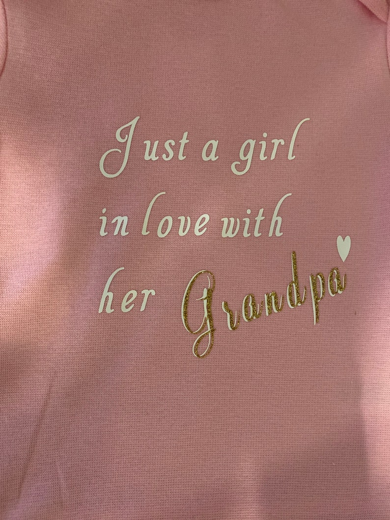 Gift for grandpa Baby girl onesie gifts for dad gifts for baby shower cute onesies onesies for baby shower