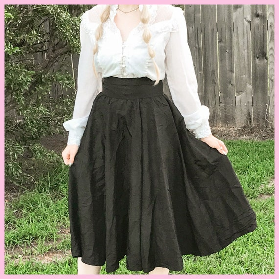 Gunne Sax Vintage Cottage Core Skirt & Blouse Set