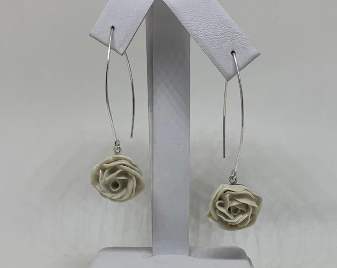 Elle Two Blooms Dangle Earrings