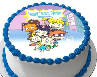 Groovy Rugrats Edible Cake Etsy Funny Birthday Cards Online Necthendildamsfinfo