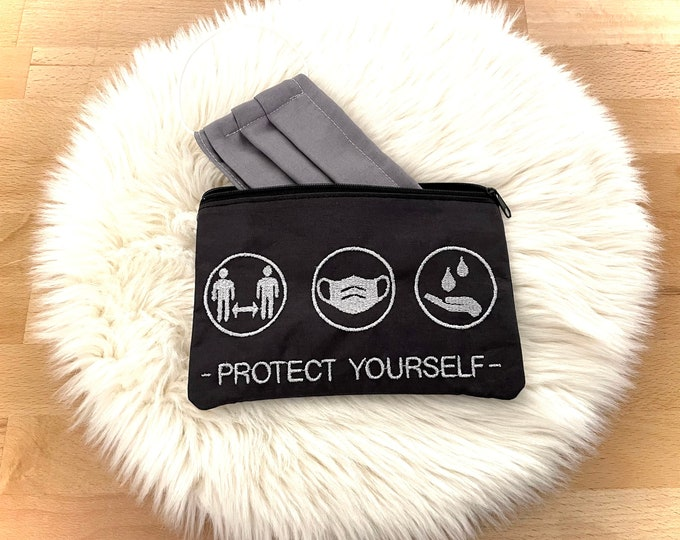 Mask bag, pouch, bag for masks