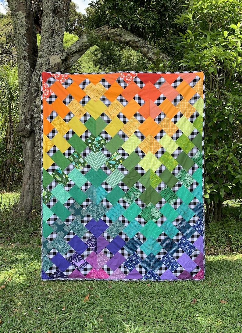 Melanie's Ripple Quilt Pattern by Cedar Makerie image 6