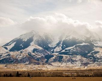 Winter Mountain Landscape, Winter Landscape Photography, Nature Photo Print, Nature Wall Art, Lauren Pretorius Photography | 26