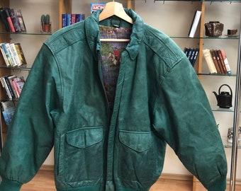 Superb Vintage 1980/'s 80s Oversized SML Italian Moda soft leather multi pocket ibiza distressed in places Leather jacket coat.Loose Large
