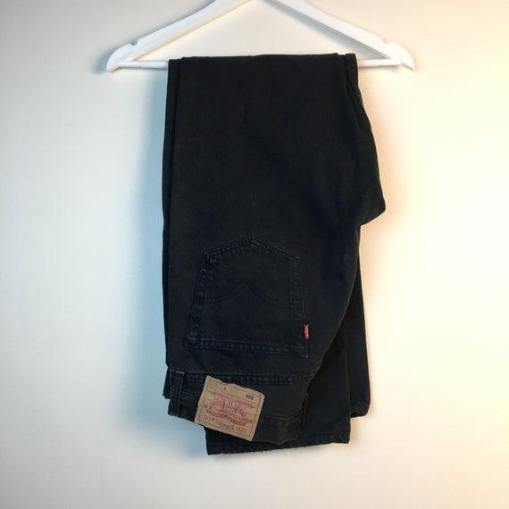 34x32 black Levis 90s Jeans Pants denim Jeans Vint