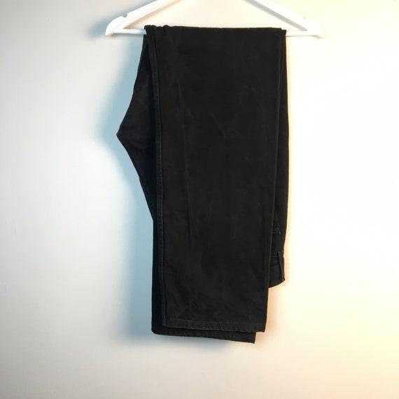 36x34 black Levis 90s Jeans Pants denim Jeans Vin… - image 3