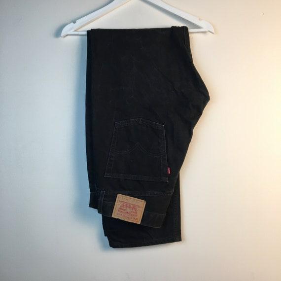 36x34 black Levis 90s Jeans Pants denim Jeans Vin… - image 1