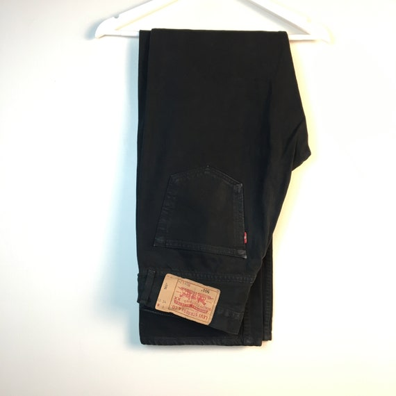 33x34 black Levis 90s Jeans Pants denim Jeans Vint