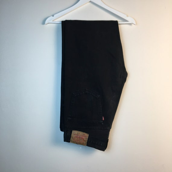 36x34 black Levis 90s Jeans Pants denim Jeans Vint