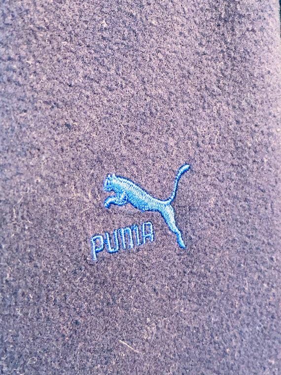 Puma green blue Jacket Runner tennis 80s Running … - image 4