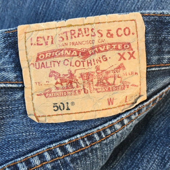 32x36 Levis 90s Jeans Pants denim Jeans Vintage L… - image 2