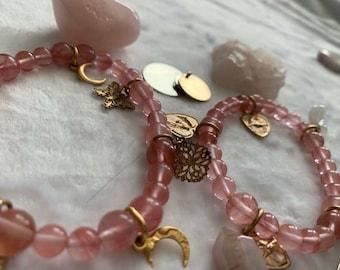True Love & Transformation Matching Bracelet/Anklet Set