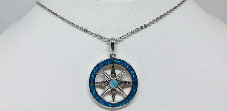 Compass Necklace image 0