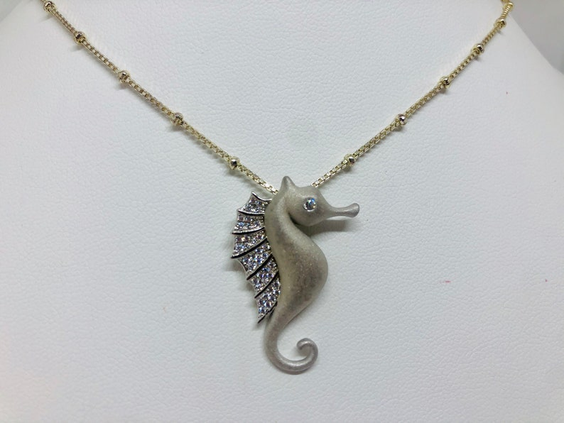 Sterling Silver Seahorse image 0