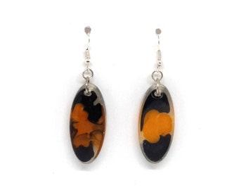 Oval Earrings Modern Resin Jewelry, Geometric Earrings, Suitable For Gift