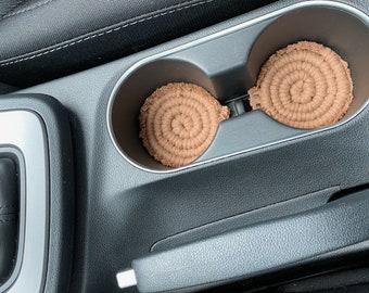 Macrame Car Coasters